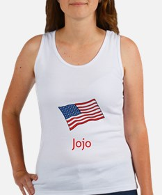 Old Glory Personalized July 4 Pop Tank Top