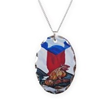 El Que Canta Rooster and Puert Necklace
