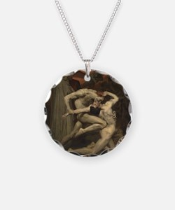 Dante and Virgil in Hell Necklace