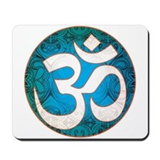 Pause and listen for the ohm Mousepad
