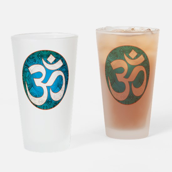 Pause and listen for the ohm Drinking Glass