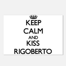 Keep Calm and Kiss Rigoberto Postcards (Package of