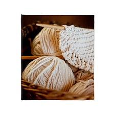Organic Wool  Throw Blanket