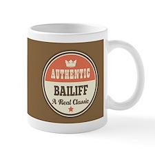 Vintage Bailiff Design Gift Mugs