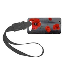 Show Off Poppies Luggage Tag