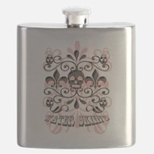 water skiing Flask