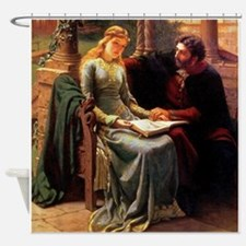 Abelard and his pupil Heloise Shower Curtain