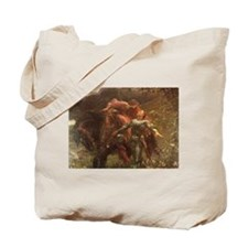 La belle dame sans merci: illustration Tote Bag