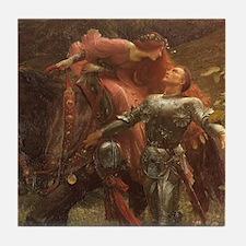 La belle dame sans merci: illustration Tile Coaste