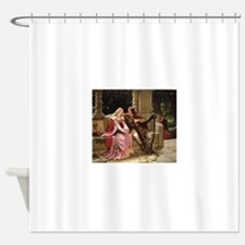 Tristan and Iseult by Leighton Shower Curtain