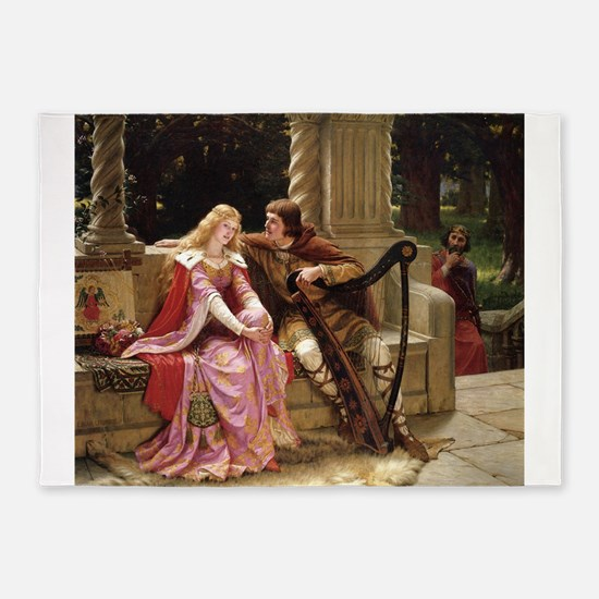 Tristan and Iseult by Leighton 5'x7'Area Rug