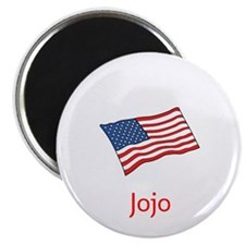 Old Glory Personalized July 4 Pop Magnets