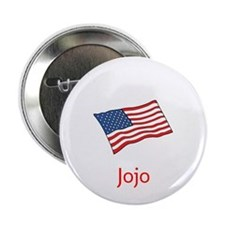 """Old Glory Personalized July 4 Pop 2.25"""" Butto"""