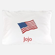 Old Glory Personalized July 4 Pop Pillow Case