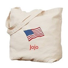 Old Glory Personalized July 4 Pop Tote Bag