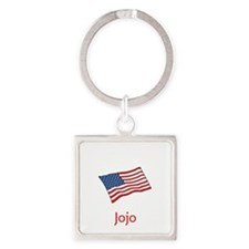 Old Glory Personalized July 4 Pop Keychains