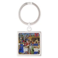 Medieval illustration Keychains