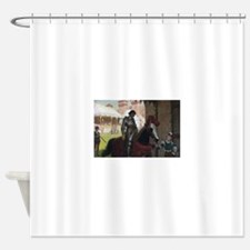 Vanquished Knight Shower Curtain