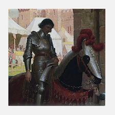 Vanquished Knight Tile Coaster