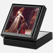 Middle Ages Accolade of Knight Keepsake Box