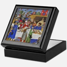Medieval illustration Keepsake Box