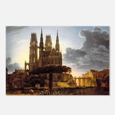 Medieval town Postcards (Package of 8)