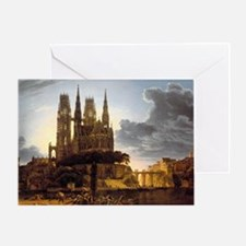 Medieval Town Greeting Cards