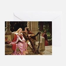 Tristan And Iseult By Leighton Greeting Cards