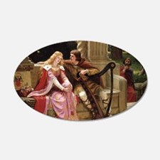 Tristan and Iseult by Leighton Decal Wall Sticker