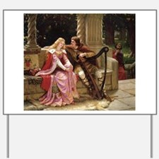 Tristan and Iseult by Leighton Yard Sign
