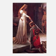 Accolade Painting Edmund Postcards (package Of 8)