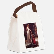 Middle Ages Accolade of Knight Canvas Lunch Bag