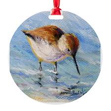 Wading Sandpiper Ornament