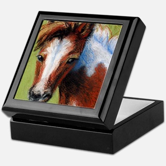 Chincoteague Pony Foal Keepsake Box