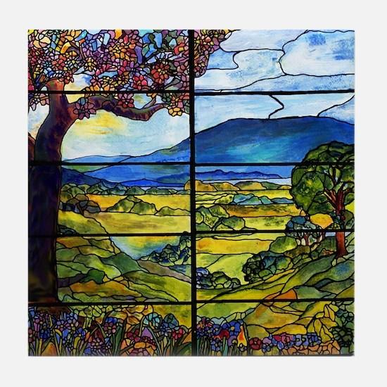 Tiffany Minnie Proctor Window Tile Coaster