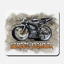 Street_Fighter_Black Mousepad