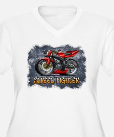 Street_Fighter_Red Plus Size T-Shirt
