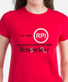 No One Can Spell Rensselear Tee