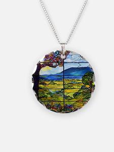 Tiffany Minnie Proctor Window Necklace