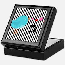 Singing Blue Bird Keepsake Box