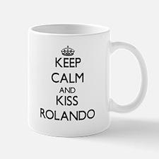 Keep Calm and Kiss Rolando Mugs