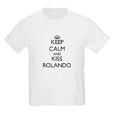 Keep Calm and Kiss Rolando T-Shirt