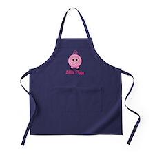 Little Piggy Pink Pig Apron (dark)