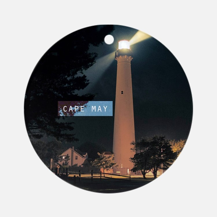 Cape May. Ornament (Round)
