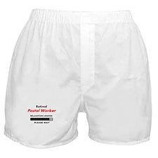 LOADING RET POSTAL WORKER Boxer Shorts