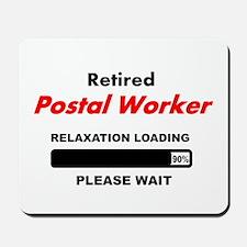 LOADING RET POSTAL WORKER Mousepad
