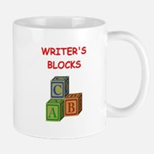 writers block Mugs
