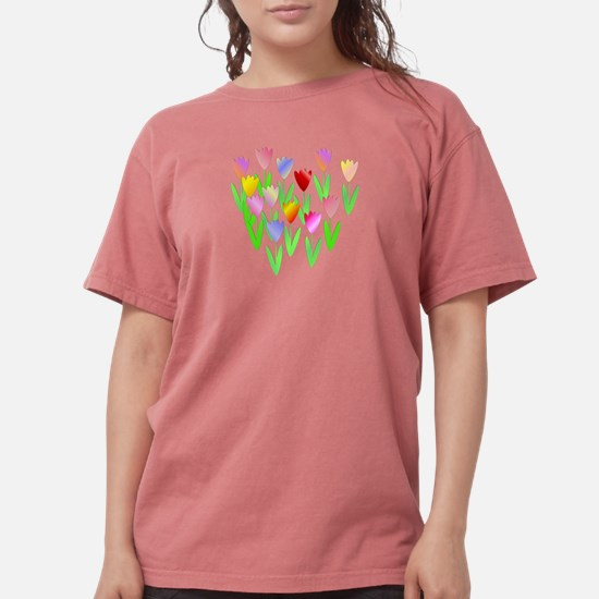Colorful Tulopswomen's T-Shirt