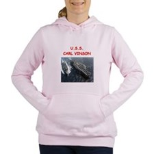 uss carl vinson Women's Hooded Sweatshirt