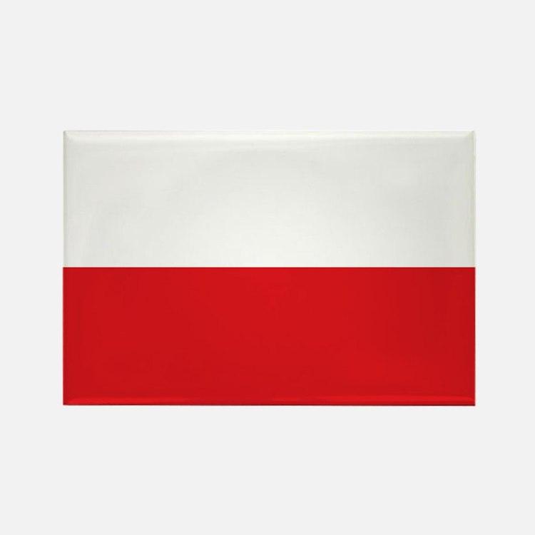 Polish flag Rectangle Magnet